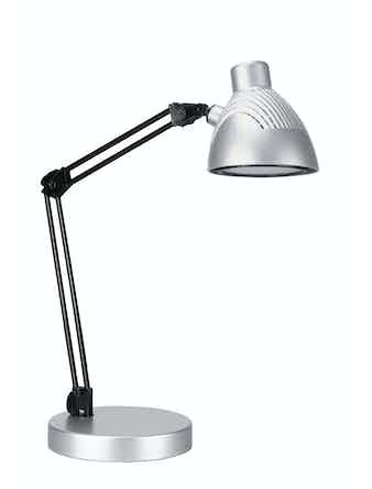 Лампа настольная LED, 5W, серая