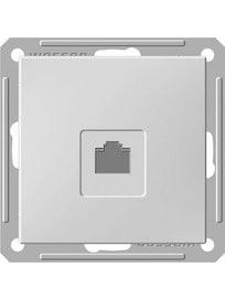 Розетка компьютерная Wessen 59, белая