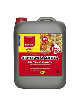 Огнебиозащита Neomid 450–1 группа, 5 л