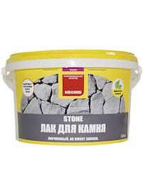 Акриловый лак пля камня Neomid Stone, 2,5 л