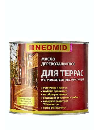 Масло для террас Neomid, 2 л