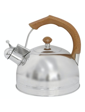 Чайник Mallony, нержавеющая сталь, 3 л