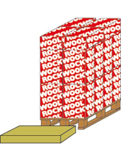 ROCKWOOL FLEXI BATT 70X570X1170MM 5,34M2