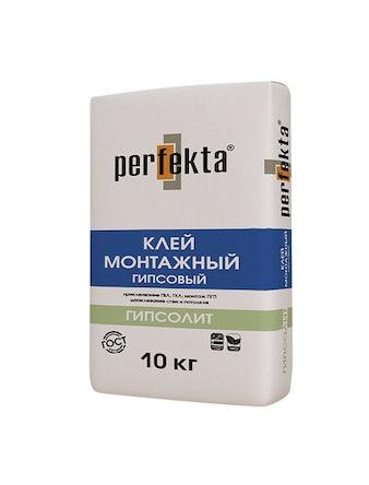 Клей монтажный гипсовый Perfekta Гипсолит, 30 кг