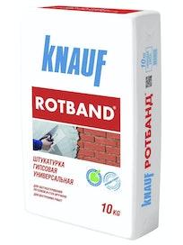 Штукатурка гипсовая Кнауф Ротбанд, 10 кг