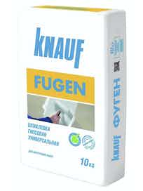Шпатлевка гипсовая Кнауф Фуген, 10 кг