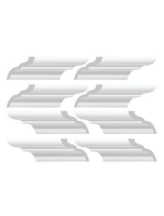 Элементы плинтуса для углового соединения С04/50