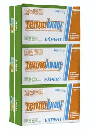 Изоляция Тепло Knauf Expert, плита 100 х 61 х 5 см, 4,88 м2