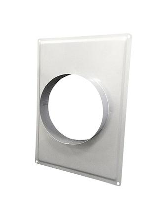 Фланец металлический хромированный d=100 мм 10792