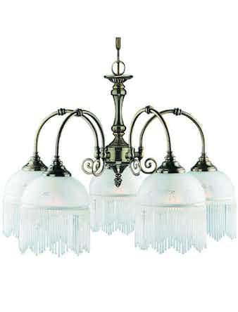 Люстра Arte Lamp Victoriana A3191LM-5AB, 5 х Е27 х 60 Вт