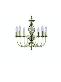 Люстра Arte Lamp Zanzibar A8392LM-6AB, 6 х Е14 х 60 Вт