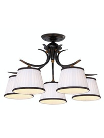 Люстра Arte Lamp Irene A5133PL-5BR, 5 х E14 х 40 Вт