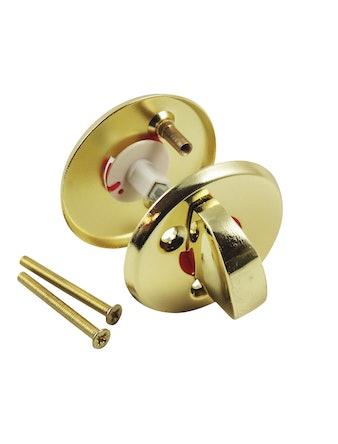 Завертка 0360 WC/РВ/РВ золото мет. 55 мм