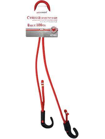 Стяжка эластичная для крепления груза с регулируемой длиной 8ммХ100см