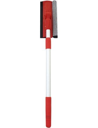 Щётка для мытья телескопическая с поролоном и водосгоном 61-89см