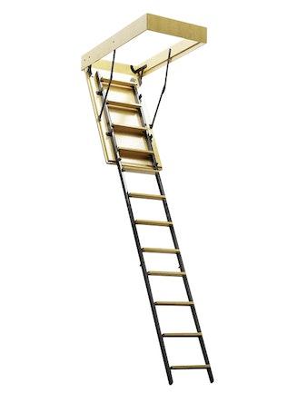 Лестница чердачная комбинированная 600х1200 L-2800