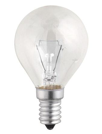 Лампа накал. Jazzway шар 40W, E14, прозр
