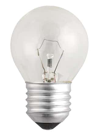 Лампа накал. Jazzway шар 40W, E27, прозр