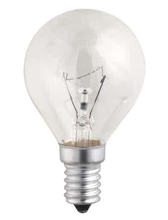 Лампа накал. Jazzway шар 60W, E14, прозр