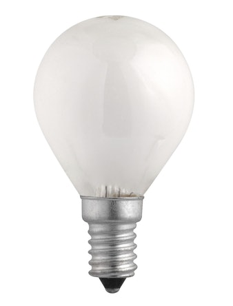 Лампа накал. Jazzway шар 40W, E14, мат.