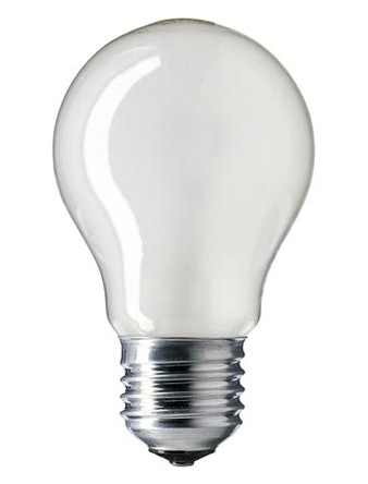 Лампа накал. Jazzway груша 75W,E27,прозр