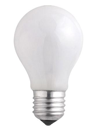 Лампа накал. Jazzway груша 75W,E27, мат.