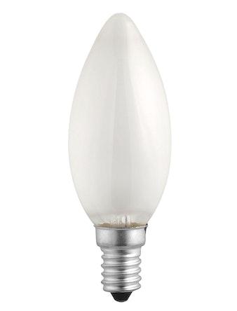 Лампа накал. Jazzway свеча 40W,E14, мат.