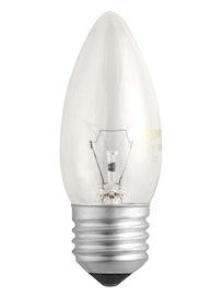 Лампа накал. Jazzway свеча 40W,Е27,прозр