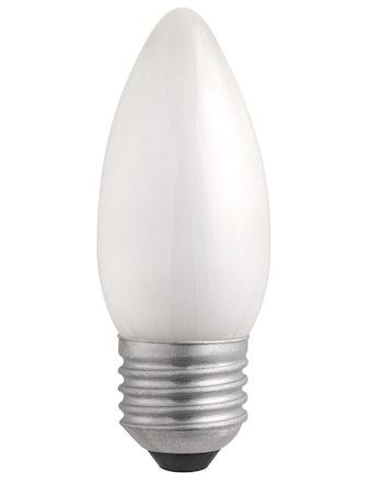 Лампа накал. Jazzway свеча 40W,Е27, мат.