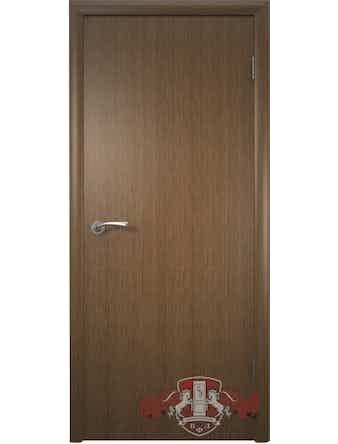 Дверное полотно Соло ПГ шпон орех, 800 х 37 х 2000 мм