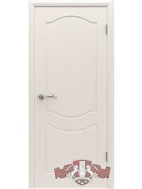 Дверное полотно Классика ПГ, белая эмаль, 600 х 37 х 2000 мм