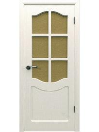 Дверное полотно со стеклом Классика ПО, 700 х 37 х 2000 мм