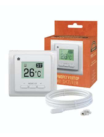 Терморегулятор электронный Национальный комфорт ТР 711, белый