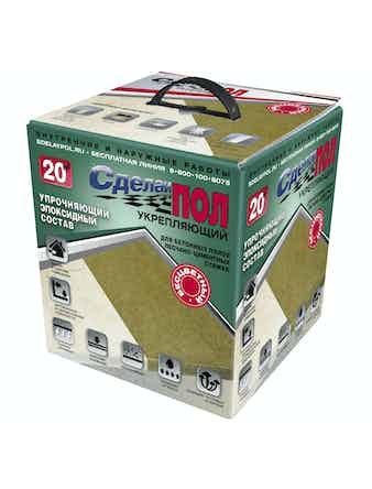 Состав укрепляющий Сделай пол, беcцветный 4,5 кг