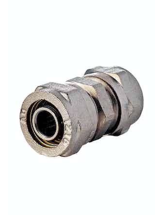 Соединитель Aquapex, 16 х 16 мм, ц/ц