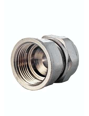 Соединитель для металлопластиковых труб Aquapex, ц/г, 20 мм х 3/4