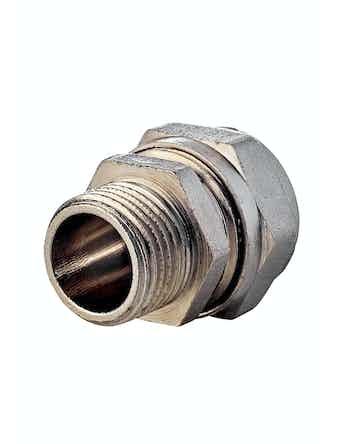 Соединитель для металлопластиковых труб Aquapex, ц/ш, 20 мм х 1/2