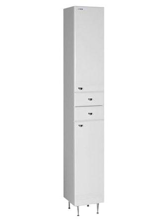 Шкаф-пенал правый Aqualife Астурия 28, белый