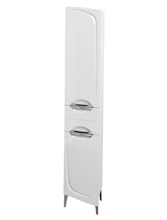 Шкаф-пенал левый Aqualife Иматра 30, белый