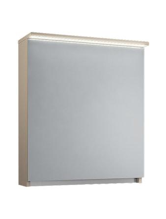 Шкаф-зеркало EFP Линда 60, капучино/белый