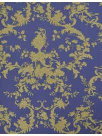 Виниловые обои Prima Italiana Amore 40219, 1,06 х 10 м, золотисто-синие