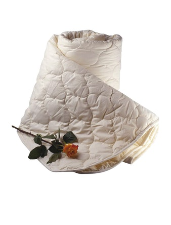 Одеяло Козий пух 140 х 205 см ОКПМ-15 чемодан