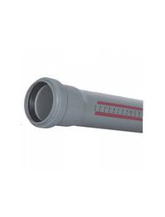Труба канализационная с раструбом DN40/2000