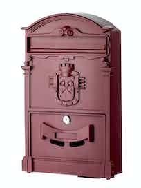 Ящик почтовый К-31091, винно-красный