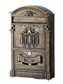 Ящик почтовый К-31092, антик коричневый
