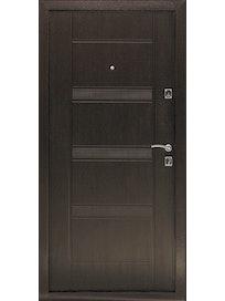 Дверь металлическая Комфорт Венге, правая, 960 х 2050 мм