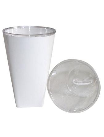 Кашпо Бриз 1,5 л d13, белый