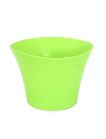 Кашпо Волна 1,5 л d16, зеленый