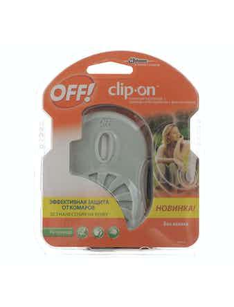 Прибор OFF! Clip-On от комаров