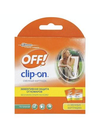 Комплект OFF! Clip-On сменный картридж, 2 шт